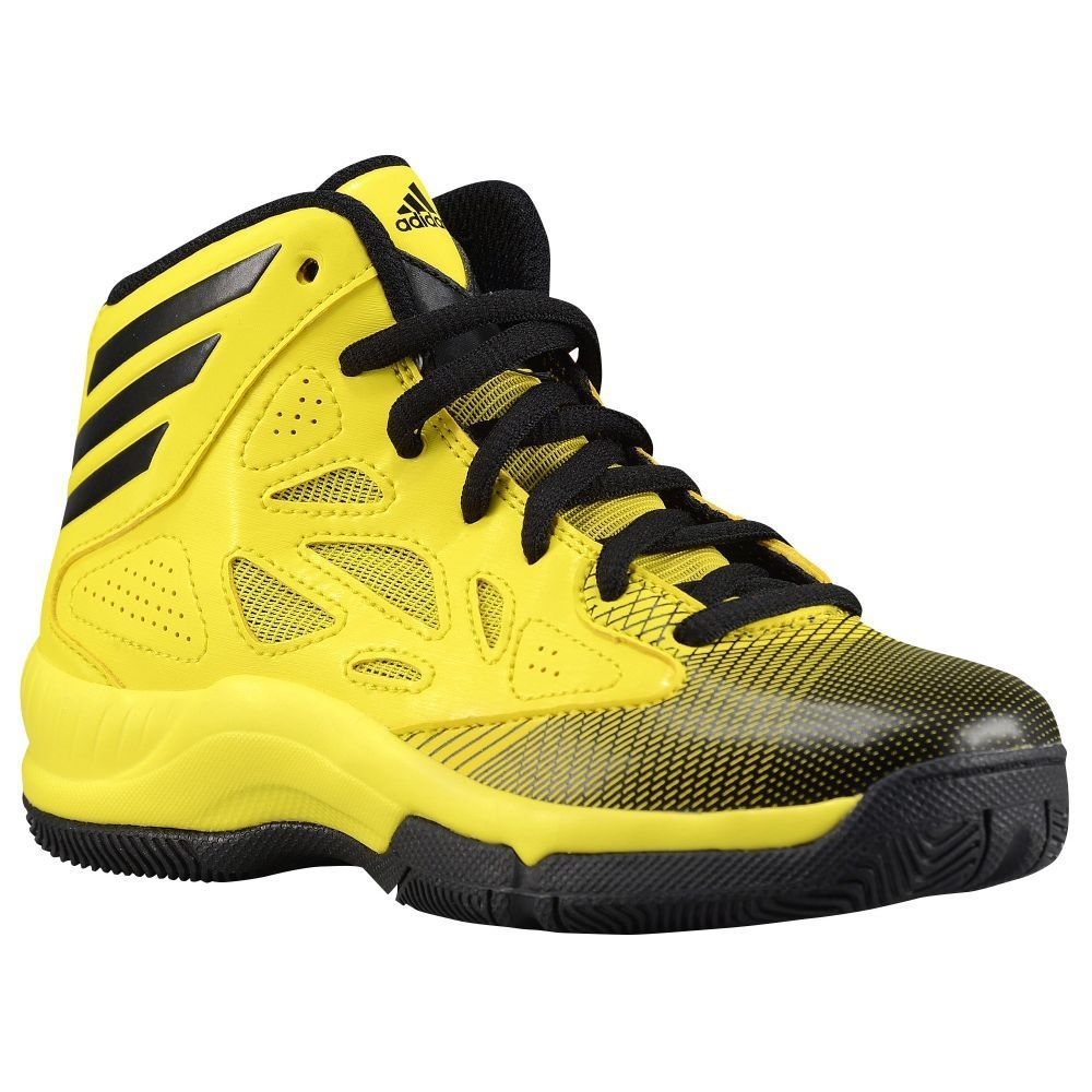 n2sneakers - adidas Crazy Fast Boys Preschool Vivid YellowBlackVivid  Yellow,