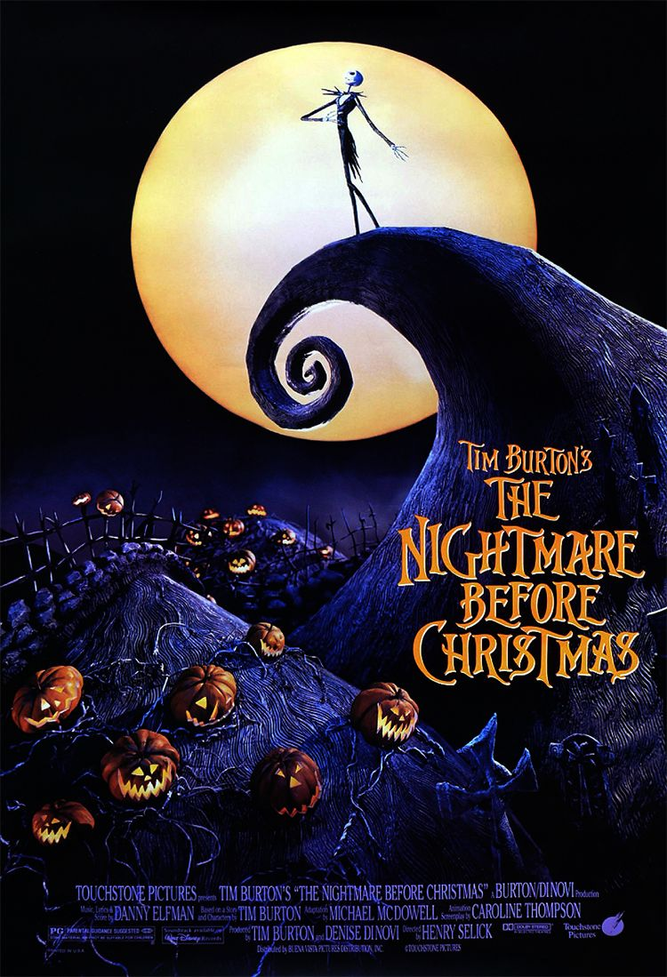 TheNightmareBeforeChristmas released in theaters 20 years ago today ...