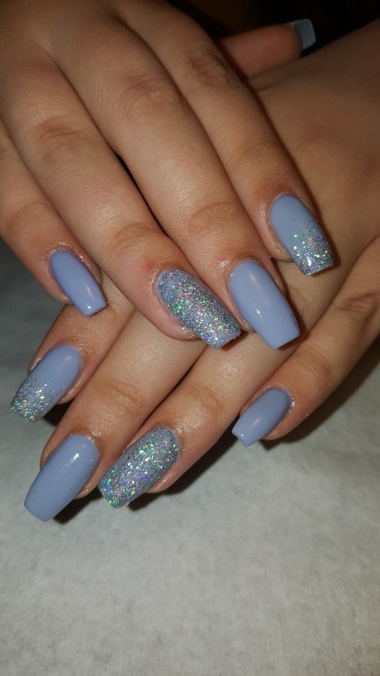Pinterest VeeVee416  YouTube  Viri E acrylicnails Pin #acrylicnails #pinterest #veevee416 #youtube in 2020 | Blue acrylic nails, Best acrylic nails, Acrylic nails