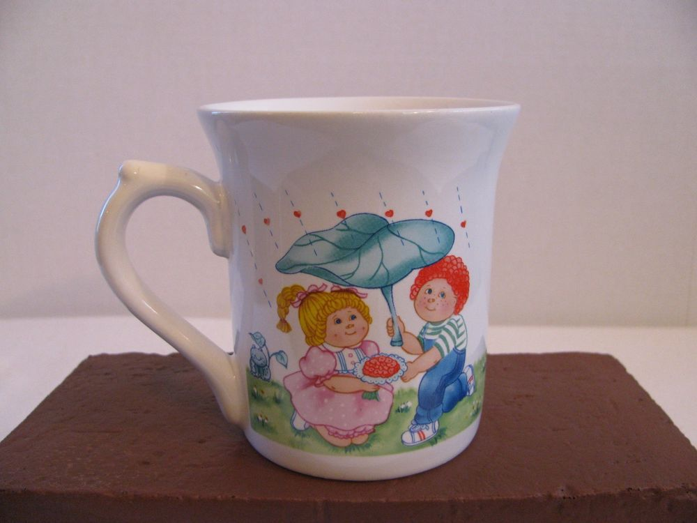 Cabbage Patch Kids Vintage 1984 Coffee Cup Mug O A A Inc 84 Edition Mugs Cabbage Patch Kids Coffee Cups