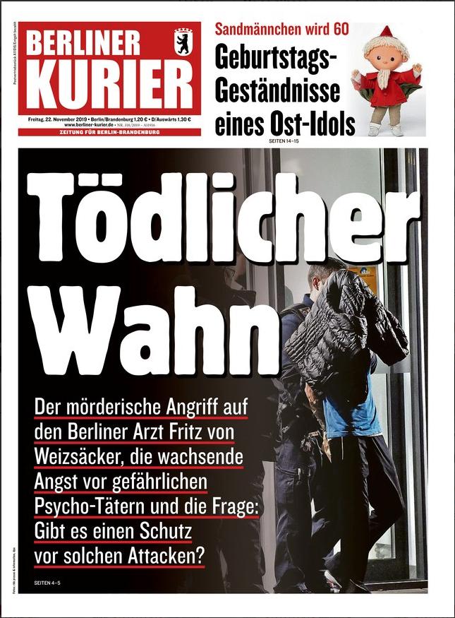 Émotion en Allemagne après l'assassinat du fils d'un ex