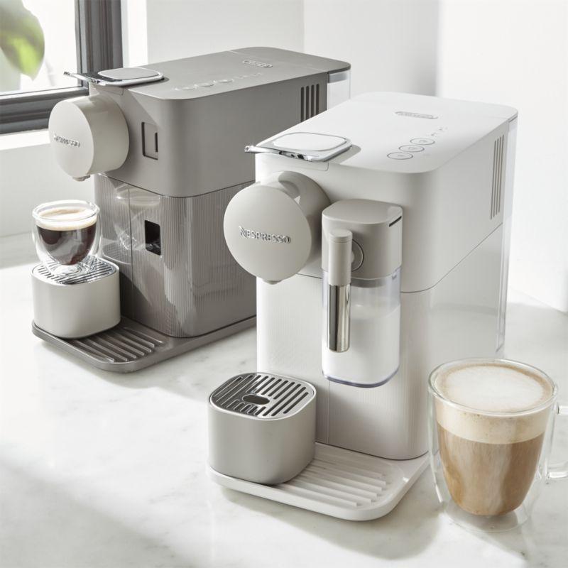 De Longhi Warm Slate Lattissima One Espresso Maker Reviews Crate And Barrel In 2020 Percolator Coffee Espresso Coffee Urn