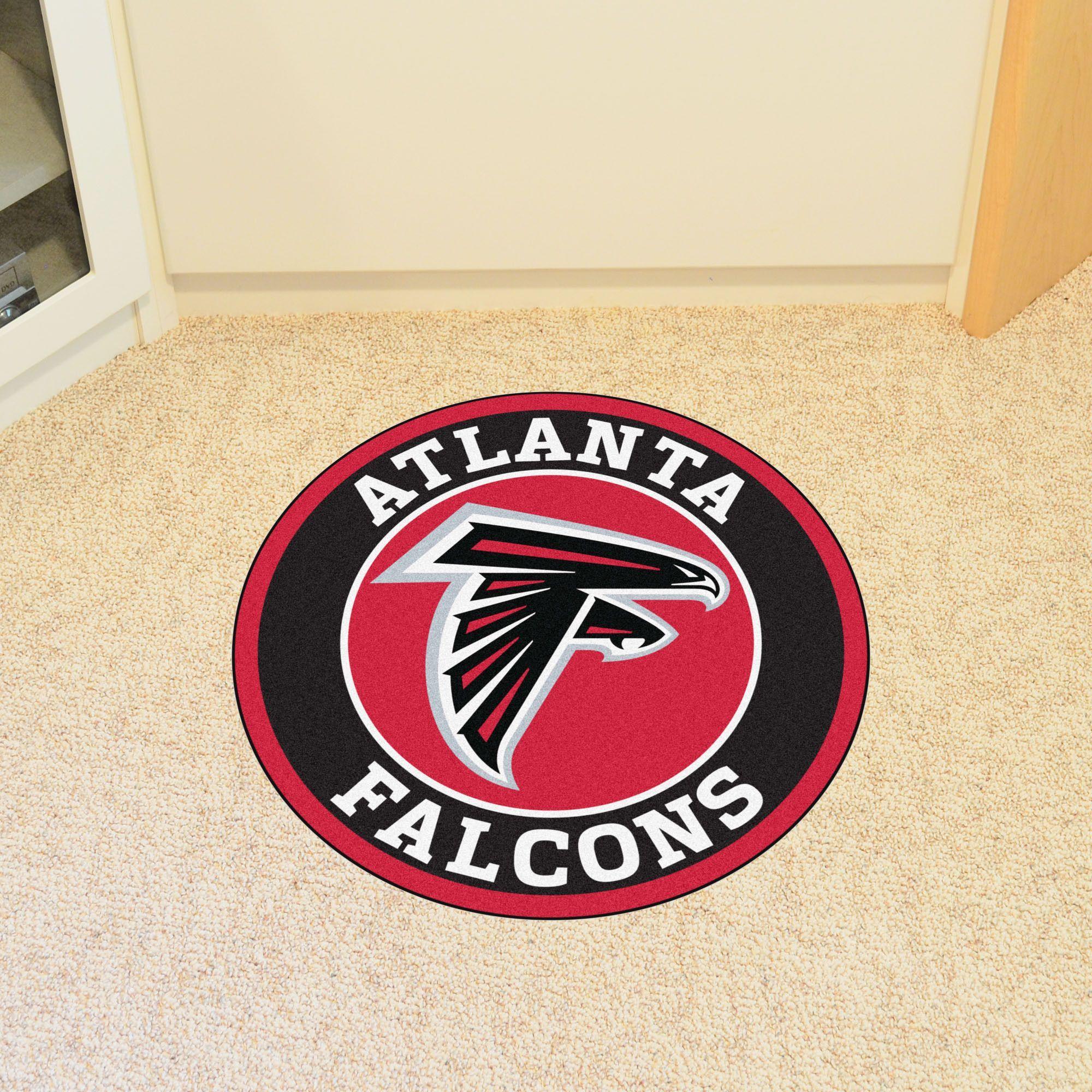 Atlanta Falcons NFL Roundel Mat | Atlanta Falcons Crafts | Pinterest ...