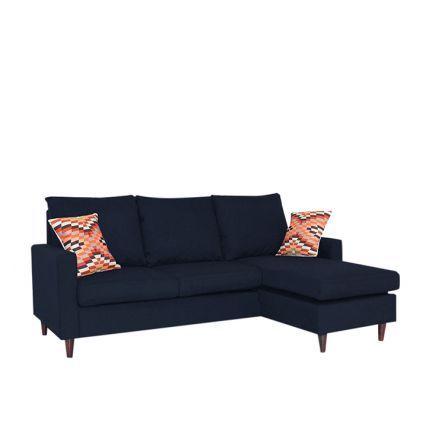 Stoa Paris L Shape Sofa Light Navy Blue L Shaped Sofas Sofa And Sectionals L Shaped Sofa Wooden Sofa Sofa Furniture