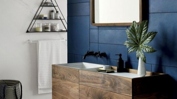 Inspiratieboost: met blauw maak je de badkamer fris én stijlvol