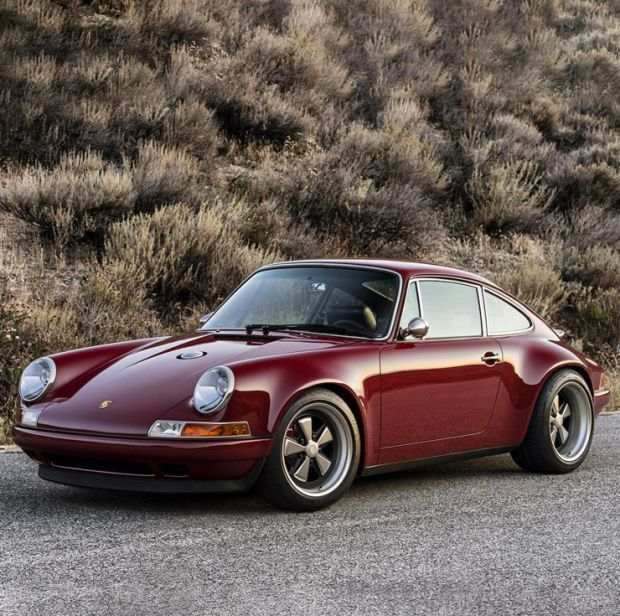 nice Car Porn: Customized Oxblood Porsche 911 Porsche 2017