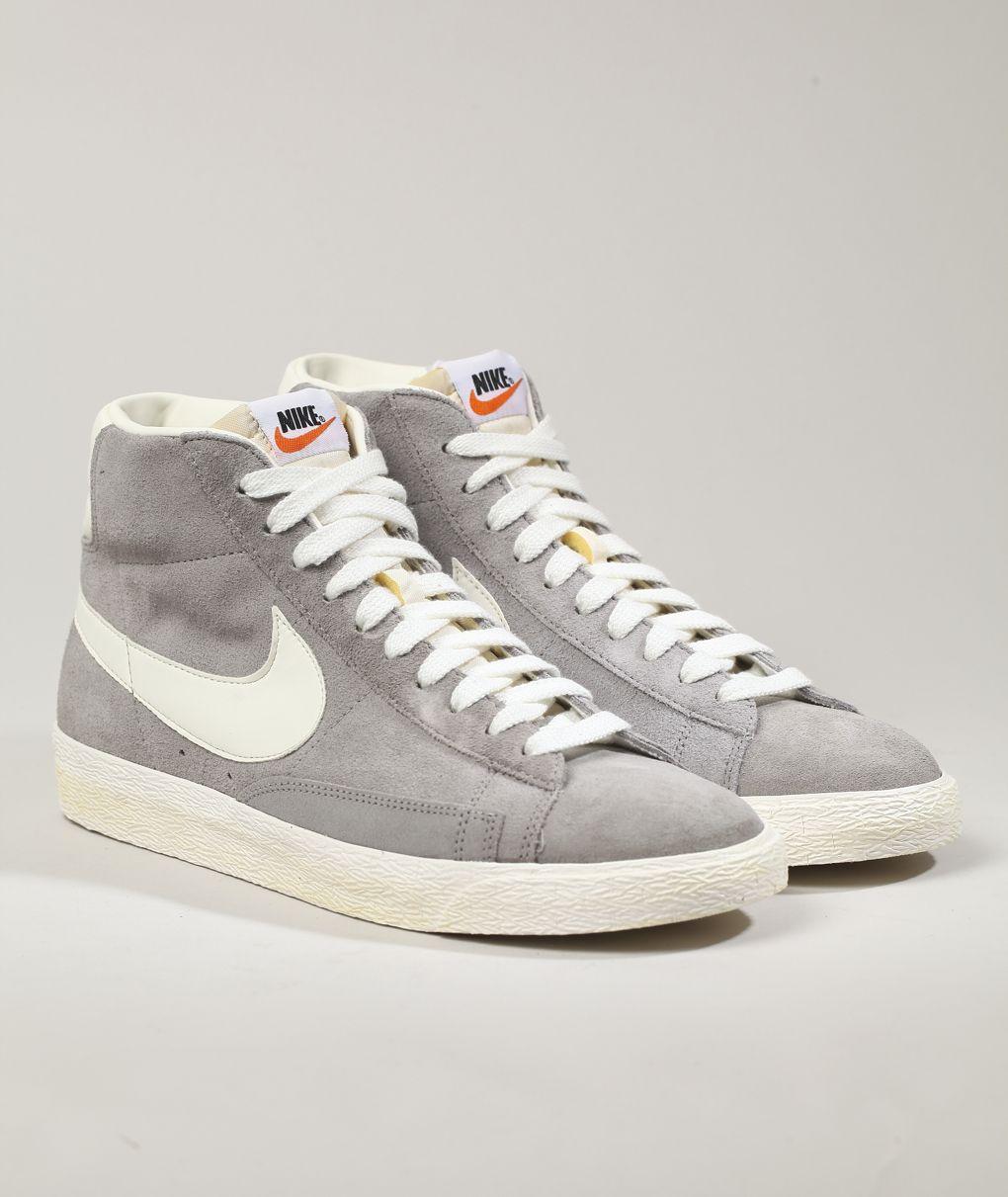 Nike Sportswear Blazer Mid Prm   Sneakers fashion