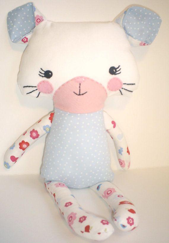 Handmade kitten softie doll | Make this stuff | Pinterest