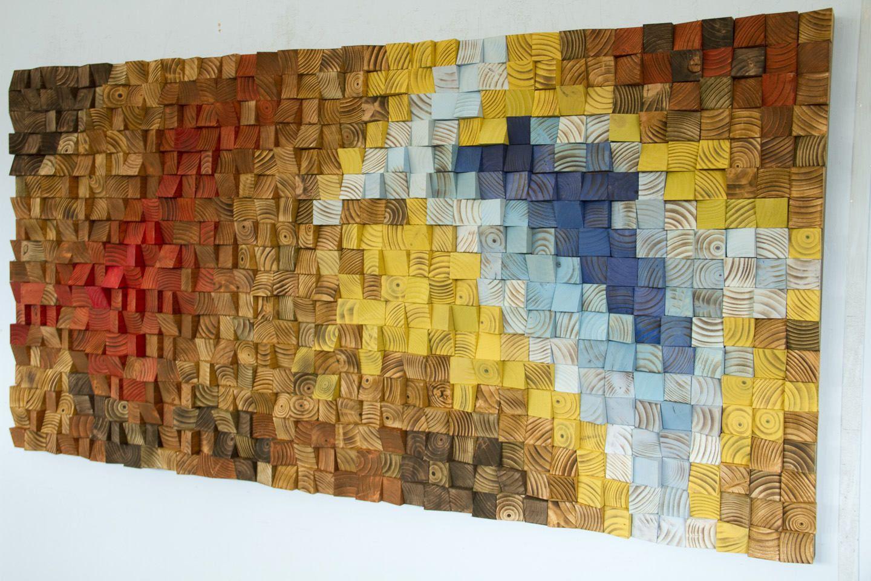 Wood wall art, Rustic wall art \