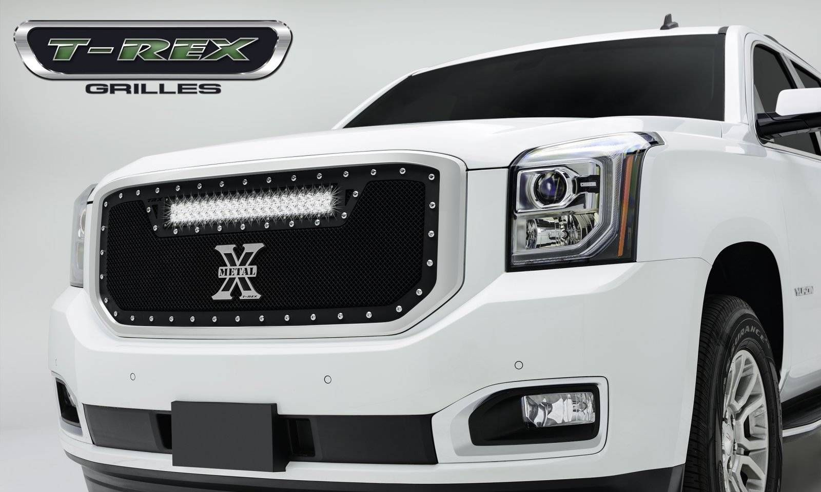Gmc Yukon Torch Series Led Light Grille 1 20 Led Bar Formed