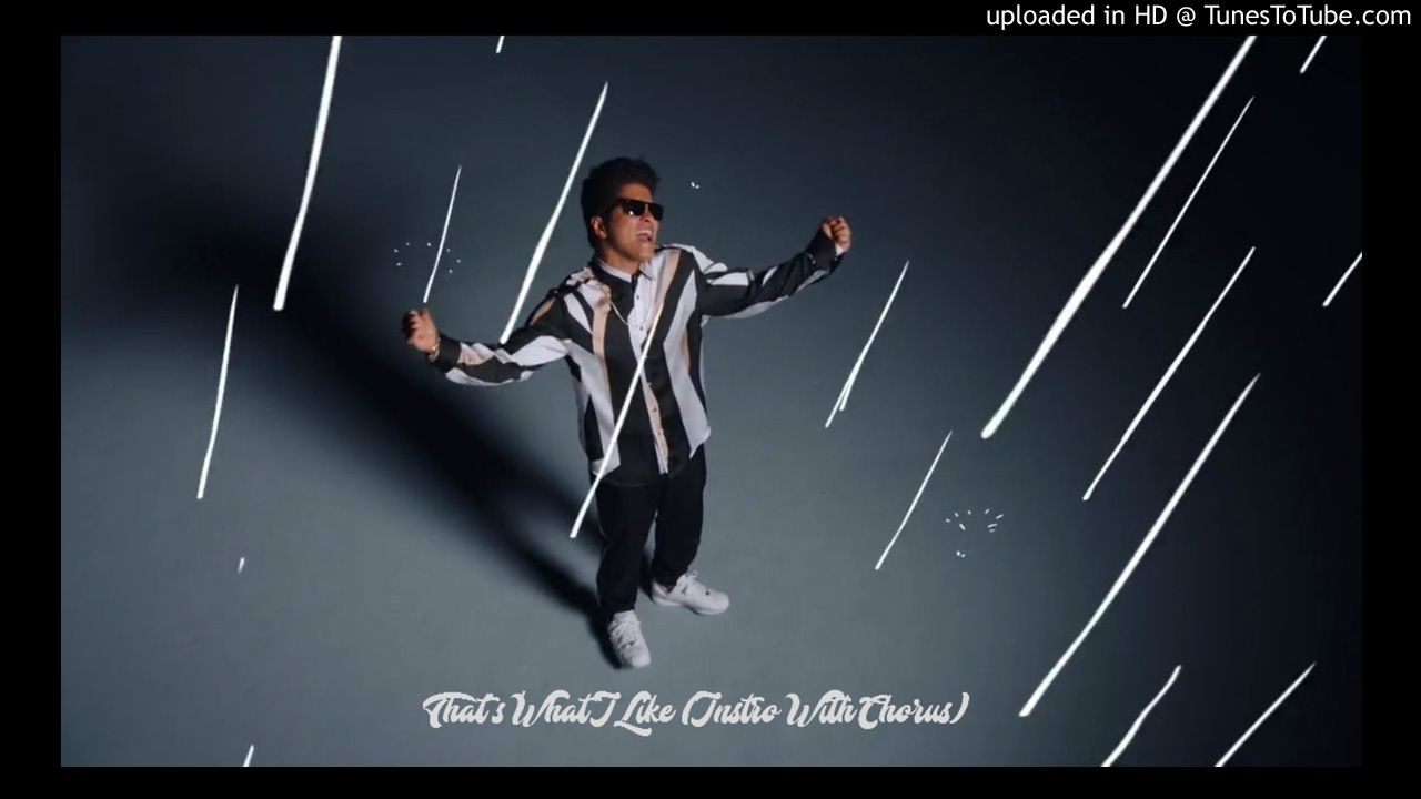 Bruno Mars - That's What I Like (Instrumental W/Chorus