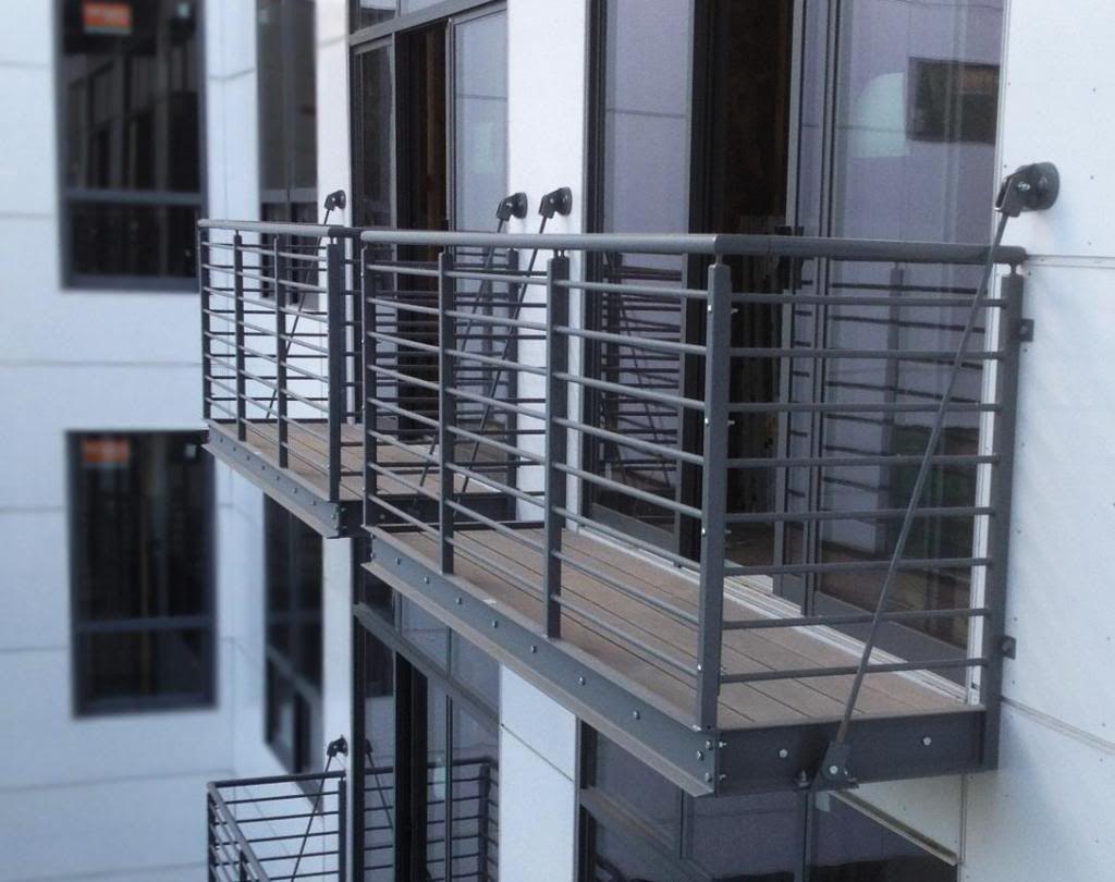 Building Metal Porch Railing   Work   Pinterest   Decking ...