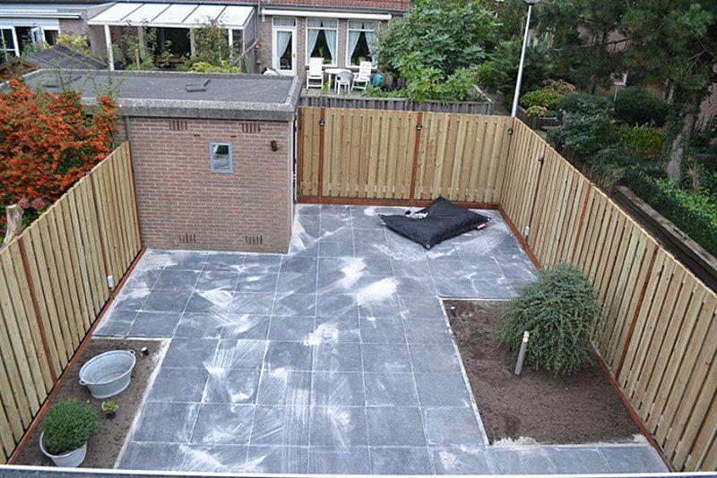 Afbeeldingsresultaat voor tuinaanleg rf 19 tuinaanleg for Bestrating kleine tuin