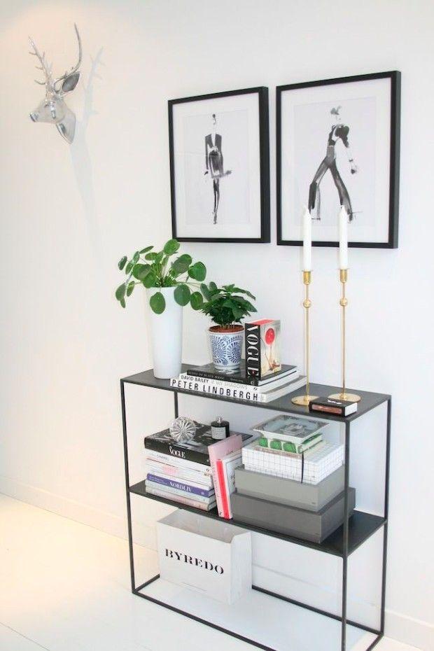 WOHNIDEEN UND INSPIRATIONEN | Minimalistische Und Scandinavischen  Innenarchitektur Projekte Mit Markanten Konsolentischen. Clicken Sie, Um  Mehr Luxus ...