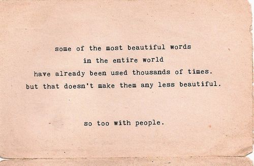 you are endlessly beautiful