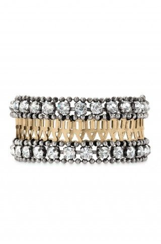 GORGEOUS Mixed Metal Link Chain & Crystal Statement Bracelet | Portia Bracelet | Stella & Dot www.stelladot.com/ellenwilliams