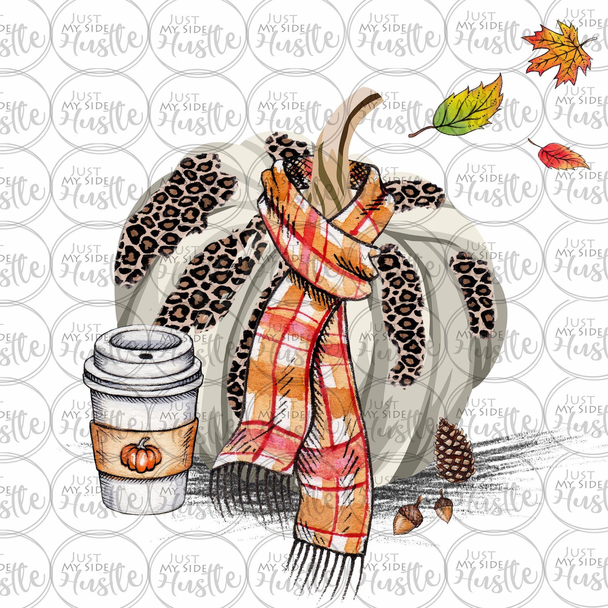 Pumpkin Spice Coffee Season Png Fall Sublimation Designs Autumn Instant Digital Download Design Png Sublime