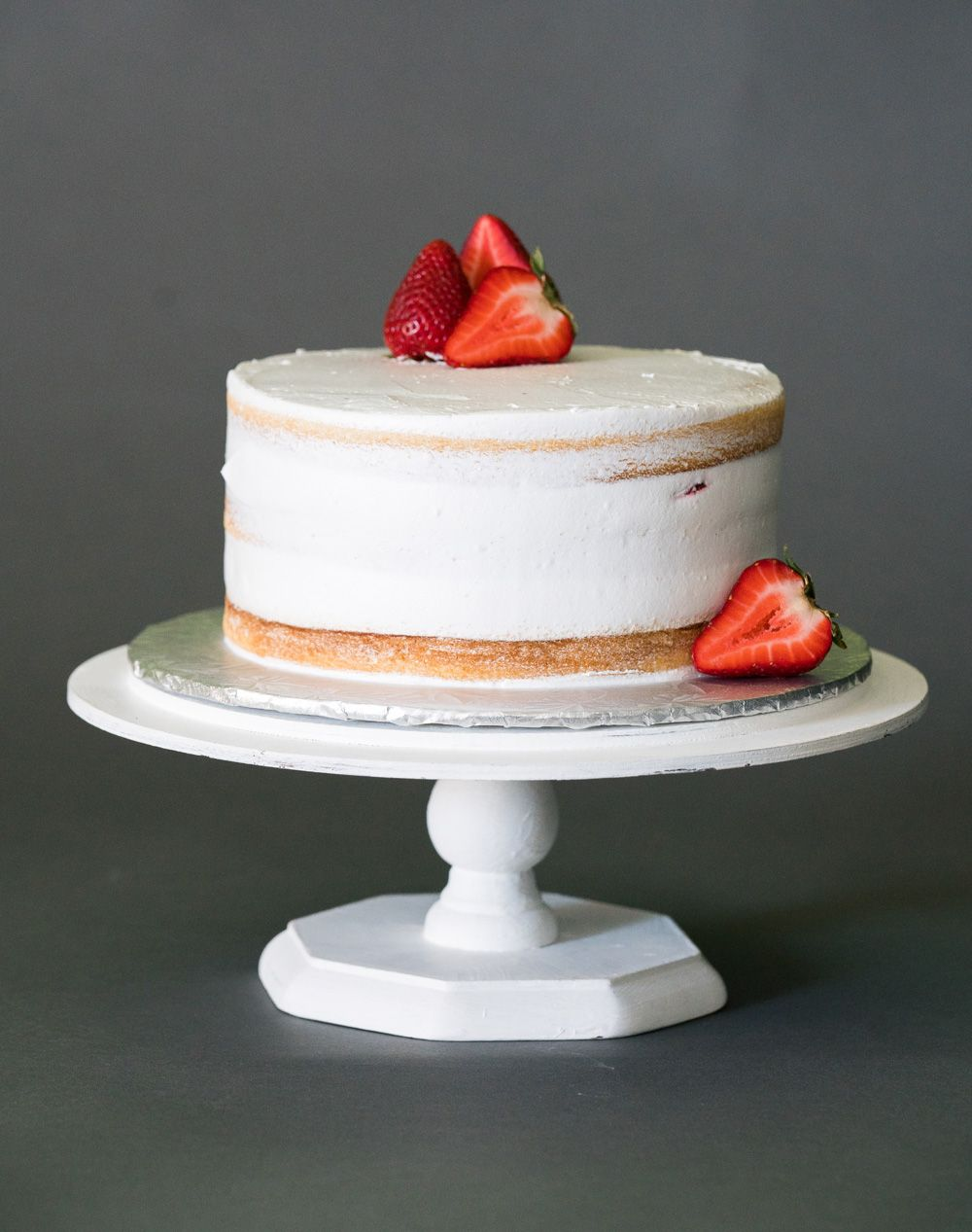 Strawberry Naked Chantilly Cake Made By Chef Aura Fuenmayor Myrtle