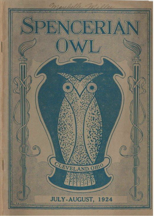 Spencerian College, OWL July 1924 - Cleveland, OH