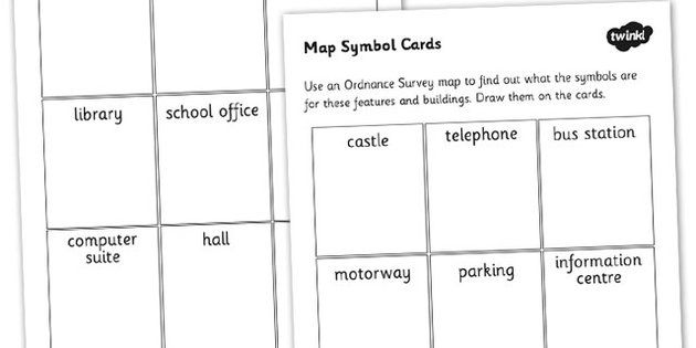 Map Symbol Worksheets Map Symbols Maps Worksheet Maps Reading