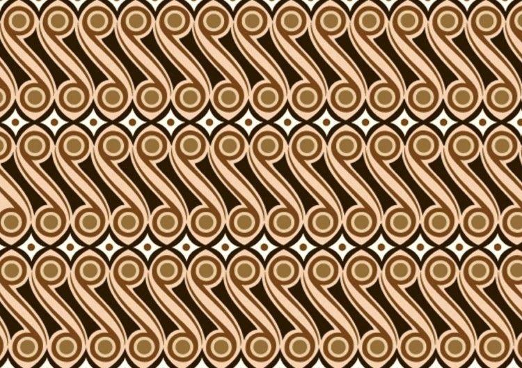 Ragam Hias Geometris Gambar Seni Dan Geometri