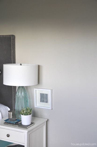 Guest Bedroom The Power Of Paint Gray Painted Walls Guest