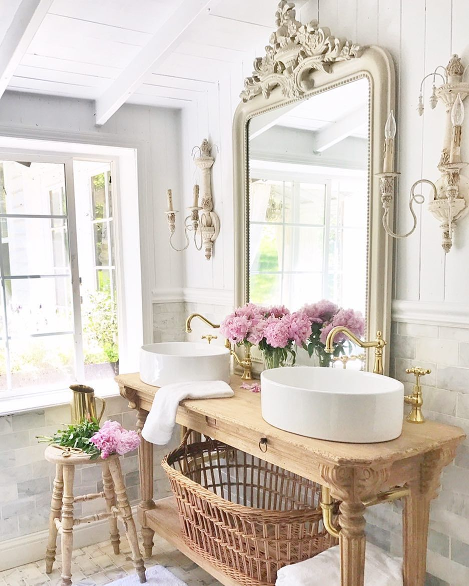 3 122 Likes 161 Comments French Country Cottage Frenchcountrycottage On Instagram I Country House Decor French Cottage Bathroom French Country Bathroom