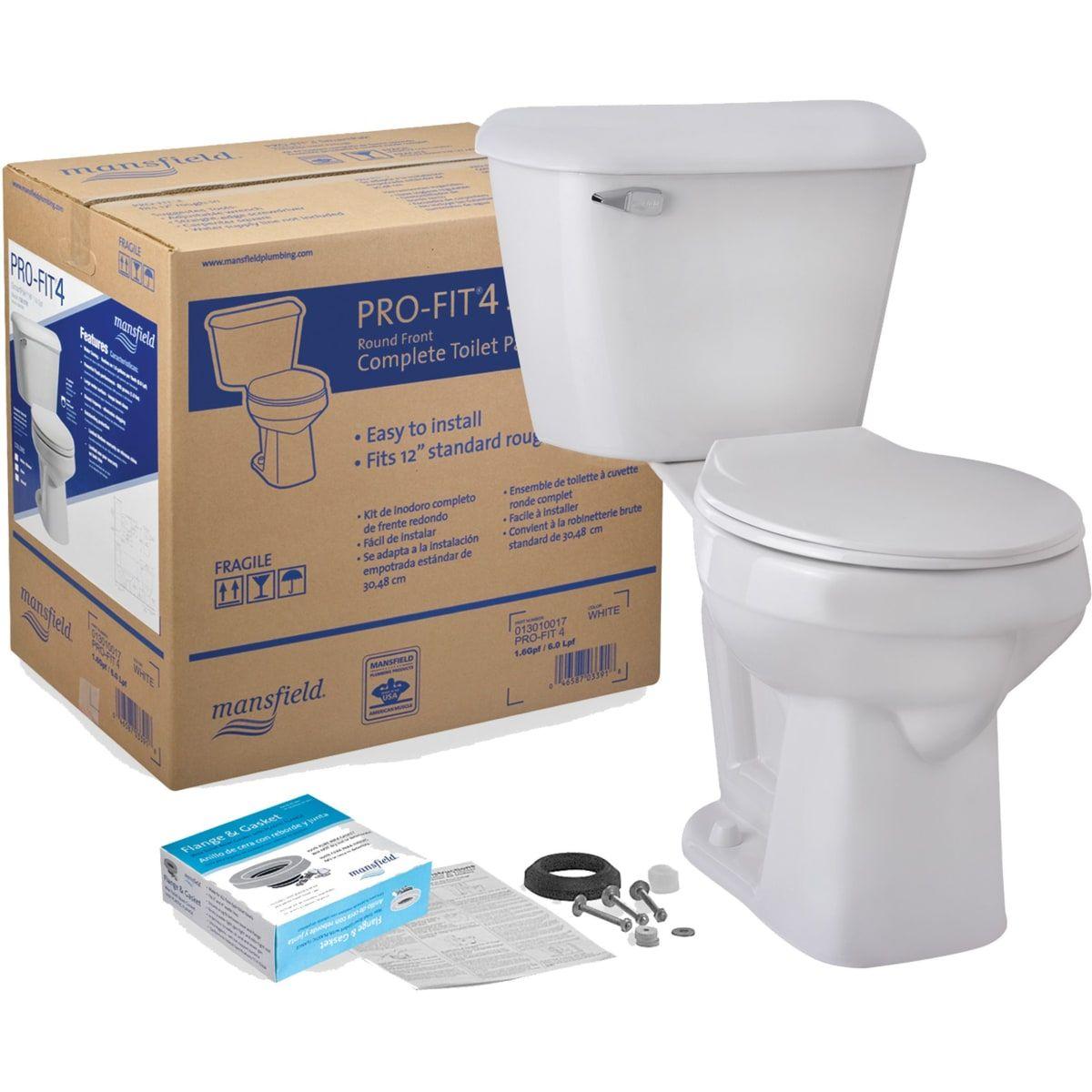 Mansfield 117ctk Build Com One Piece Toilets Toilet Seat Water Sense