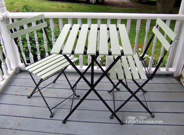 Easy Update The Ikea Tarno Painted Diy Garden Furniture