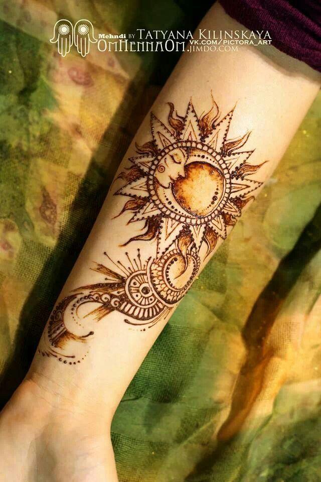 wundersch ne henna malerei kunstbarkeiten pinterest tattoo ideen henna und tattoo sonne. Black Bedroom Furniture Sets. Home Design Ideas