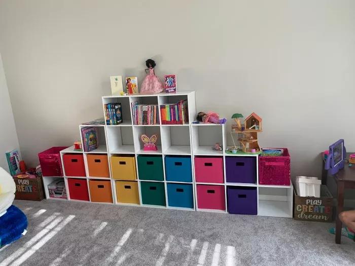 Riverridge 2pc Folding Toy Storage Bin Set Target Toy Storage Bins Storage Bin Toy Storage