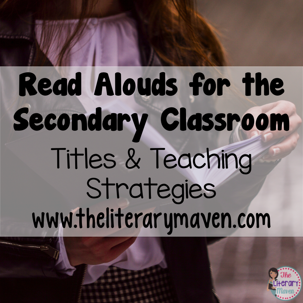 Read Alouds Secondary Classroom Titles & Teaching