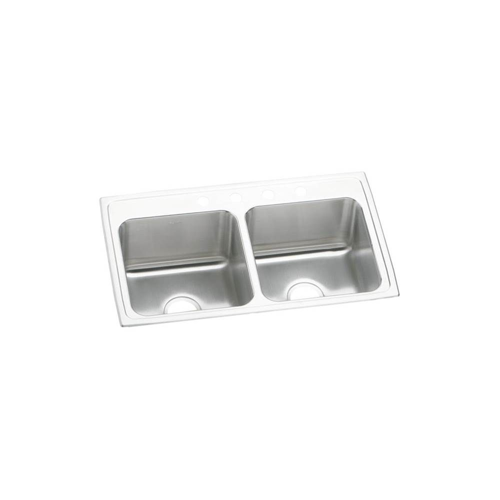 33x19 Drop In Single Bowl Kitchen Sink Elkay Double Basin Sink