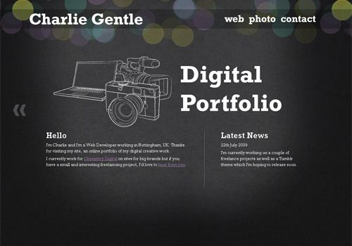 ashley frasier design portfolio hover effects web design pinterest design portfolios - Portfolio Design Ideas