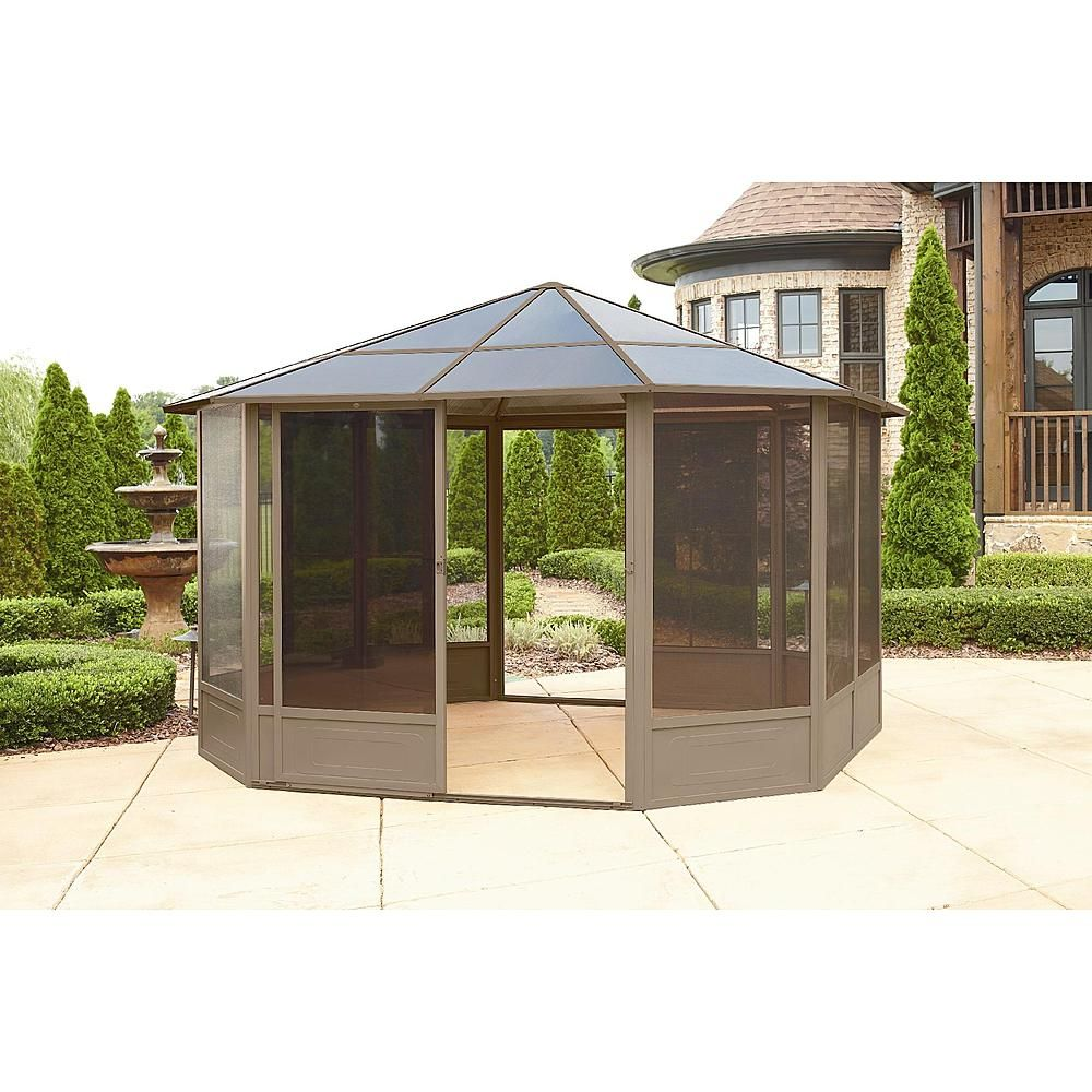 Grand Resort 12x12 Hardtop Solarium - Outdoor Living - Gazebos Canopies u0026 Pergolas - Gazebos  sc 1 st  Pinterest & Grand Resort 12x12 Hardtop Solarium - Outdoor Living - Gazebos ...