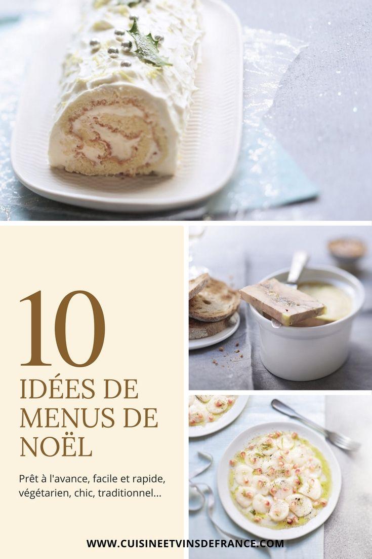 Idees De Menus De Noel Cuisine Pinterest Menu De Noel Noel Et