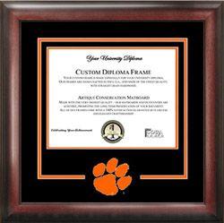 Clemson University Spirit Diploma Frame Diploma Frame College Logo Frame