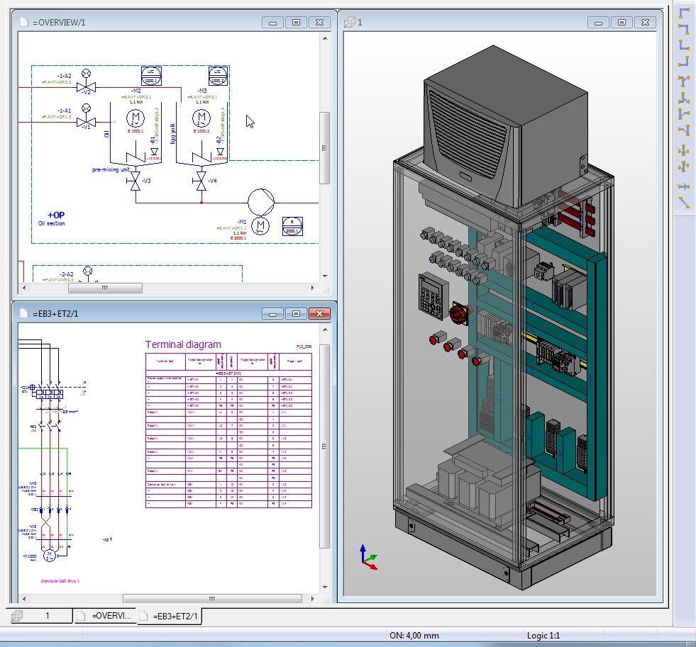 eplan #eplan_p8 #eplan_cabinet #eplanp8 #wiring #electeical_panel ...
