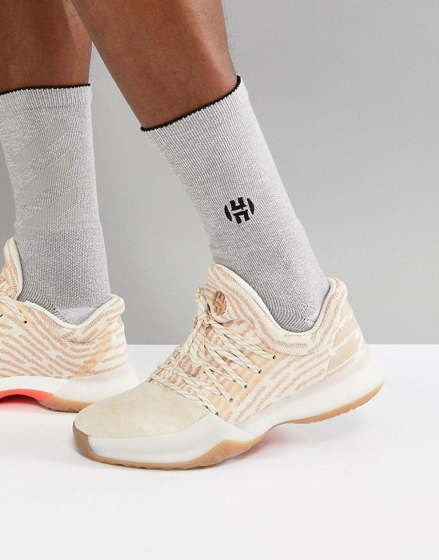 d264a889387f ADIDAS ORIGINALS ADIDAS BASKETBALL X HARDEN VOL 1 DRIVEWAY PRIMEKNIT  SNEAKERS IN WHITE AP9840 - WHITE.  adidasoriginals  shoes