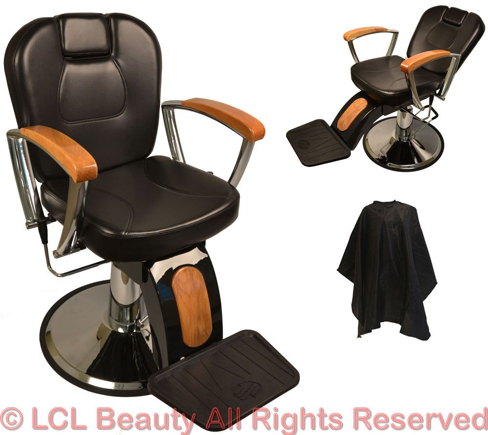 Salon Pedicure Chair Ebay >> Details About Barber Chair Salon Hair Styling Beauty Tattoo