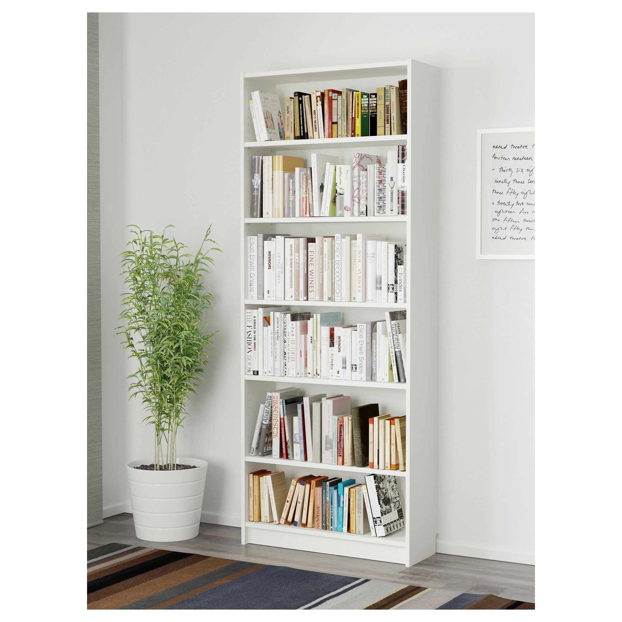Billy Bookcase  White  Ikea $59
