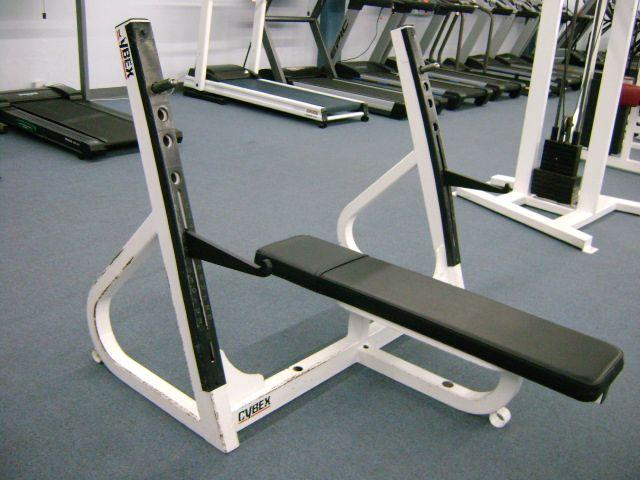 Cybex Flat Olympic Bench Press Looking Good N Feeling