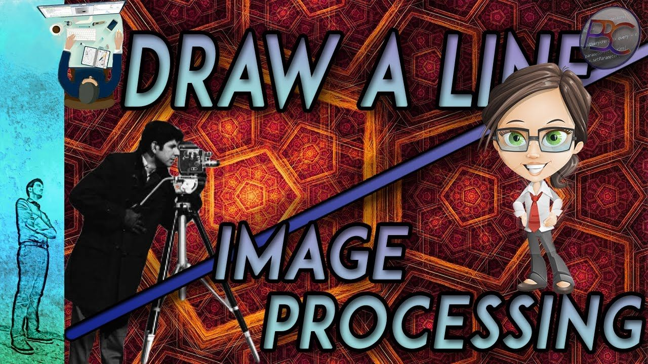 How to draw a line in a program basics in image processing in this video we will explain how to draw a line in a program a tutorial on how to use image processing to draw a line baditri Gallery