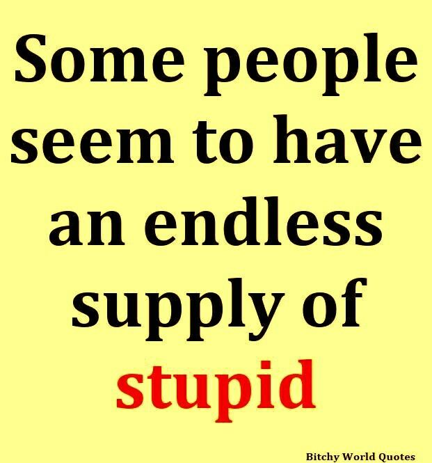 An endless supply, yes they do!