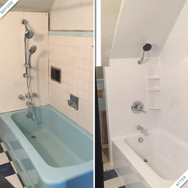 Bath Fitters Installations Are Truly Custom The Acrylic Liners Fit