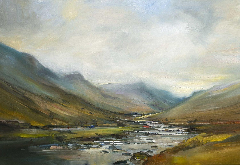 Paintings Drawings David Atkins In 2020 Easy Landscape Paintings Art Landscape Art