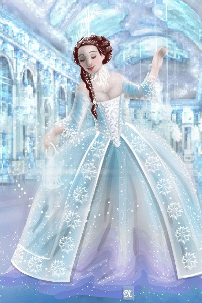 Ice Palace ~ by TheTudorQueen16 ~ created using the Other Dolls doll ...