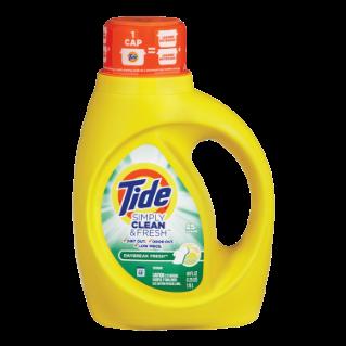 Tide Simply Clean Fresh Daybreak Fresh 40fl Oz Liquid Laundry Detergent Tide Simply Clean Laundry Detergent