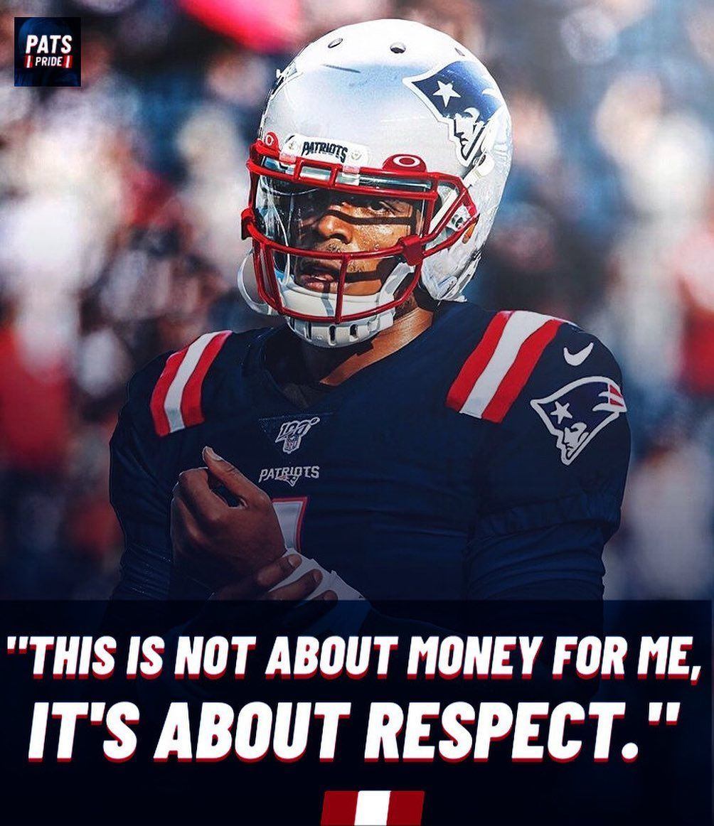 Cam Is Only Making 550k In Guaranteed Money Low Risk High Reward Deal Cameron1newton Jersey Swap Via In 2020 New England Patriots Patriots European Football