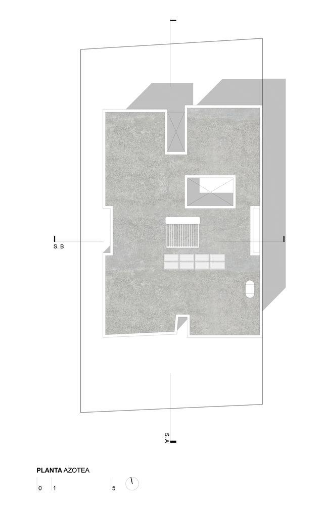 Gallery of VRV40 House / Estudio erre - 22 Rooftop, Architectural